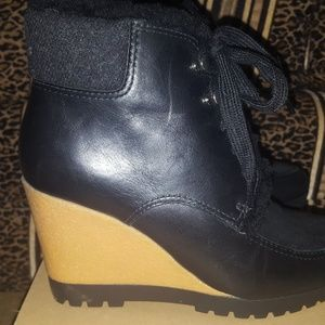 Cole haan wedge ankle boots waterproof
